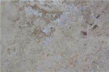Sandblasted Acid Etch Idaho Travertine, United States Beige Travertine