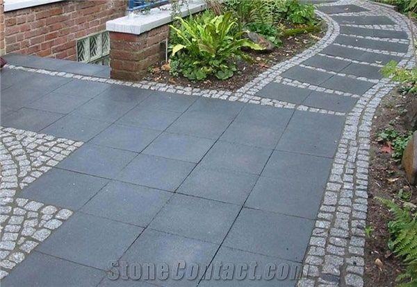 Black Granite Paving Stone From India 208673