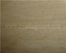 Honed Filled Travertine Tiles, Turkey Beige Travertine