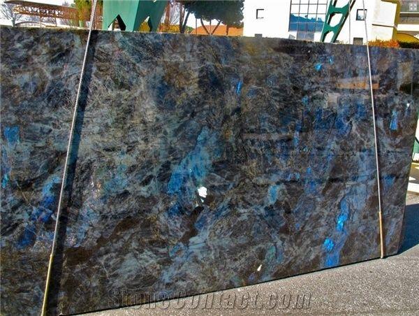 Lemurian Blue Granite Slabs Madagascar Blue Granite From