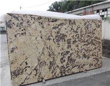 Splendour Gold Granite Slabs, Brazil Yellow Granite
