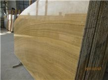 Yellow Wood Marbe, Yellow Wood Marble Slabs