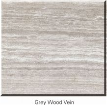 Chinese Wooden Marble, Elegant Interior Grey Wood Vein Tile for Wall Floor