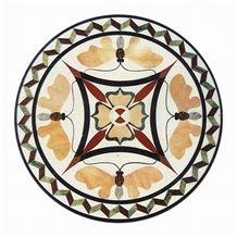 Custom Waterjet Floor Medallions Tile