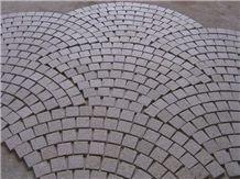 Granite Cube Stone Circular Sector