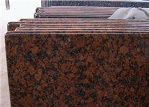 Indian Red Granite Countertop, Red Granite Kitchen Countertop Bar Top