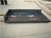 Wholesale Blue Pearl Countertop for Kitchen ,Customized Blue Granite Counterops