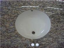 Bathroom Vanity Top with Ceremic Sink