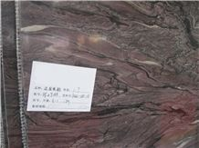 Natural French Purple Marble Slab, France Lilac Marble