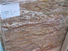Yellow Wood Grain Marble