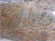 Bidasar Green (Rain Forest Green), Rain Forest Green Marble Slabs