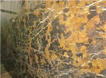 Black and Gold Marble (Michaelangelo)