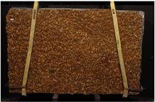 Granite Giallo West Extra Slab, Brazil Brown Granite