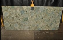 Jurassic Green Granite Slab