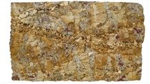 Zeus Gold Exotic Brazilian Granite Slabs, Brazil Yellow Granite