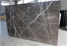 Pietra Grey - Grafite Slabs, Pietra Grey Marble Slabs