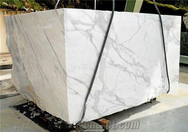 Statuario Marble Block Italy White Marble Stonecontact Com