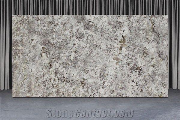 Alaska White Slabs Ice Brown Alaska White Granite Slabs