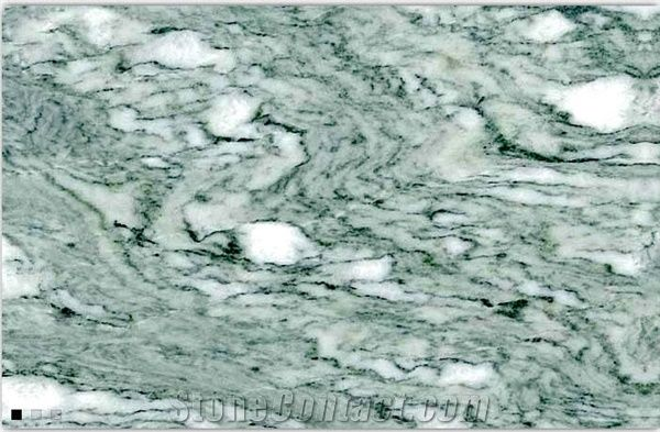 Verde Cipollino Marble Tiles Italy Green Marble From