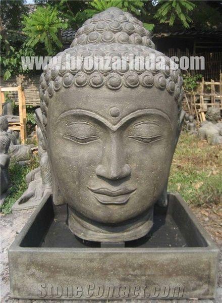 Buddha Head Fountain Buddha Relief Fountain From