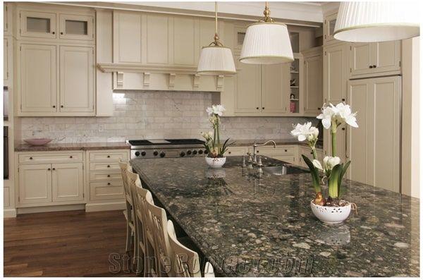 Verde Marinace Granite Kitchen Top Verde Marinace Green