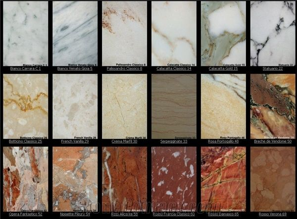 Marble Colour Range From Australia Stonecontact Com
