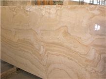 Alabastrino Travertine Wavy Vein Dark Vein Cut Slabs, Beige Travertine Floor Tiles, Wall Tiles