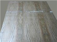 Storm Travertine Slabs & Tiles, Italy Brown Travertine