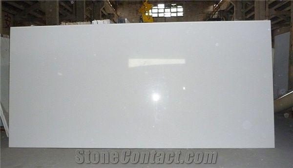 Pure White Quartz Stone Slabs From China Stonecontact Com