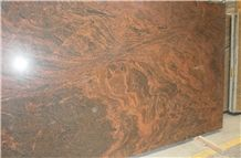 Multicolor Red Granite Slabs, India Red Granite
