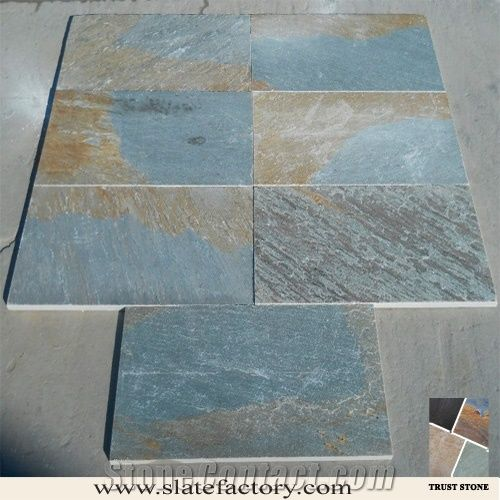Oyster Slate Flooring Tiles From China Stonecontact