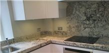 Arctic Cream White Granite Countertop