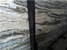 Blue Traonyx Travertine Slabs