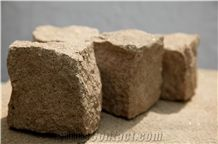 Rhyolite Paving Stone, Rhyolite Paving, Paving Rhyolite, Bulgaria Pink Rhyolite Cobbles