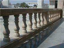 Balustrade Railings, Sd Beige Granite Balustrade