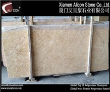 High Polished Natural Beige Botticino Classico Mar Slabs & Tiles, Botticino Classico Beige Marble Slabs