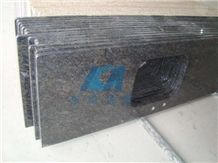 China Butterfly Blue Granite Countertop, Kitchen Desk Tops,Kitchen Island Tops, Kitchen Bar Top,Kitchen Worktops