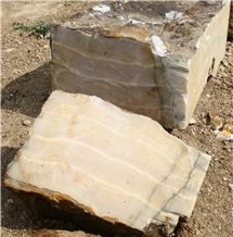Pink Onyx Small Blocks for Handicrafts, Naghadeh Pink Onyx Block