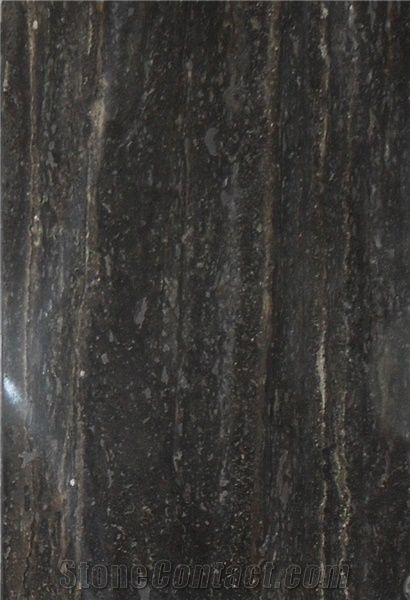 Black Travertine Slabs Tiles