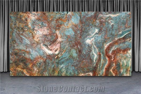 Blue Louise Quartzite Slabs Brazil Blue Quartzite From