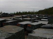Gabbro Drugoreckoe Stone Blocks, Gabbro-Diabase Granite Block