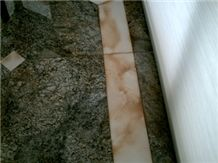 Discoloration (Rust) Granite and Marble Flooring H