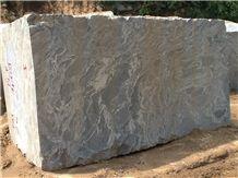 Silver Waves Granite Block, India Grey Granite