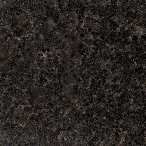India Black Pearl Granite Tiles Slabs From China