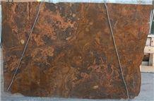 Onice Legno, Chocolate Onyx Tiles & Slabs, Brown Onyx Iran Tiles & Slabs