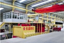Artificial Marble Production Line Manmade Stone Making Machine Engineered Stone Production Line
