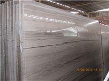 Athens Wood Vein, China Grey Marble Slabs & Tiles