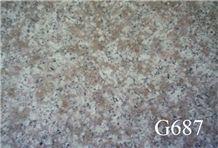 G687, China Grey Granite Slabs & Tiles