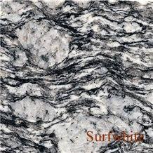Wave White, China Black Granite Slabs & Tiles