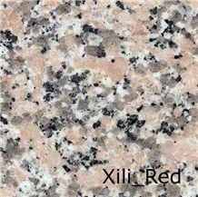 Xili Red, China Pink Granite Slabs & Tiles